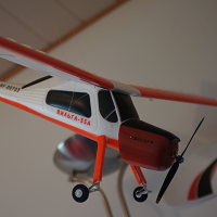 wilga 980mm brushless with flaps and orangerx rx3s flight stabilzation